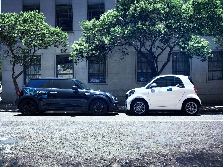 BMW and Daimler join forces to provide mobility services – 1 billion euros for 5 separate joint ventures Image #925454
