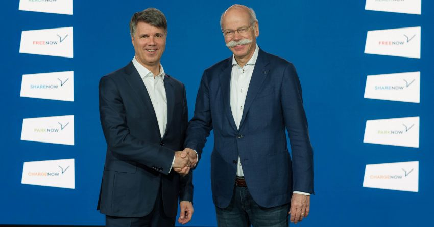 BMW and Daimler join forces to provide mobility services – 1 billion euros for 5 separate joint ventures Image #925462