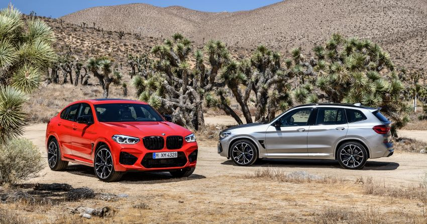 F97 BMW X3 M, F98 X4 M revealed with up to 510 hp Image #921260