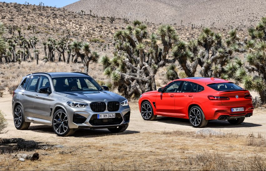 F97 BMW X3 M, F98 X4 M revealed with up to 510 hp Image #921261
