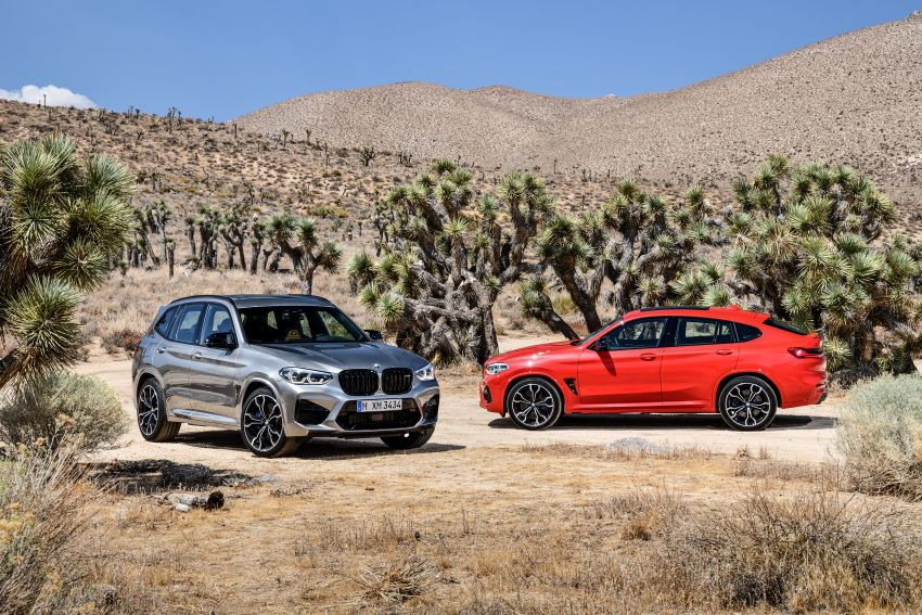 F97 BMW X3 M, F98 X4 M revealed with up to 510 hp Image #921262