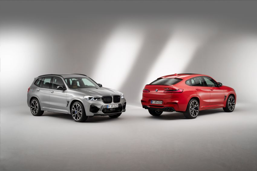 F97 BMW X3 M, F98 X4 M revealed with up to 510 hp Image #921263