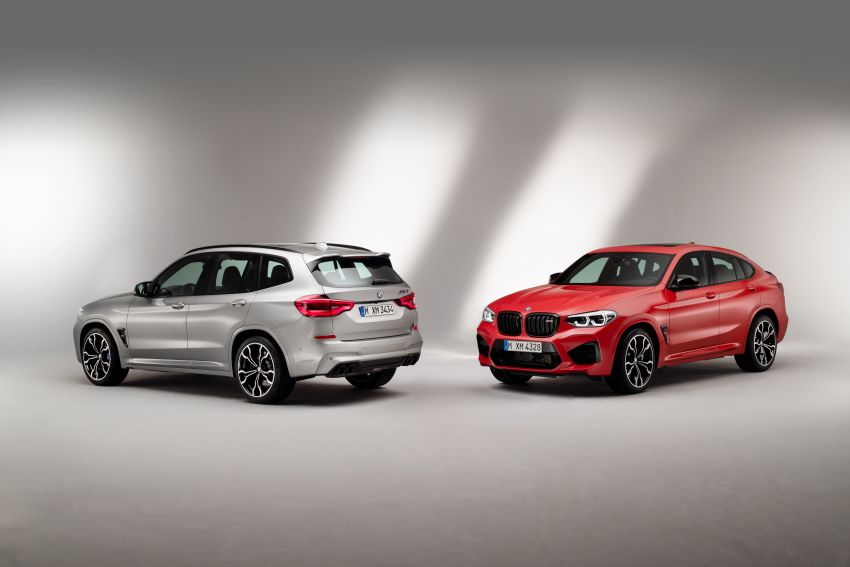 F97 BMW X3 M, F98 X4 M revealed with up to 510 hp Image #921265