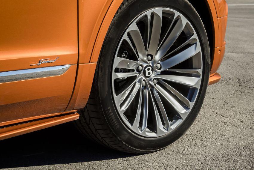 Bentley Bentayga Speed diperkenalkan sebagai SUV paling laju di dunia – mampu cecah hingga 306 km/j! Image #922283