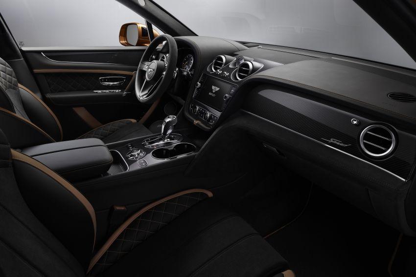 Bentley Bentayga Speed diperkenalkan sebagai SUV paling laju di dunia – mampu cecah hingga 306 km/j! Image #922302