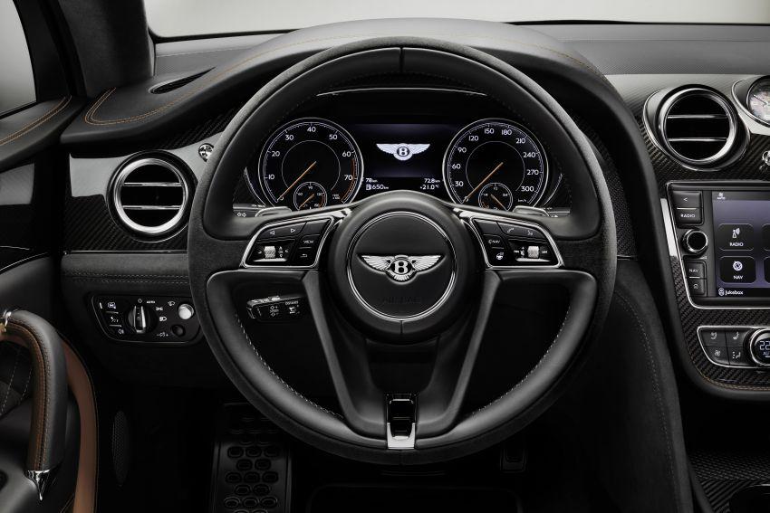 Bentley Bentayga Speed diperkenalkan sebagai SUV paling laju di dunia – mampu cecah hingga 306 km/j! Image #922305