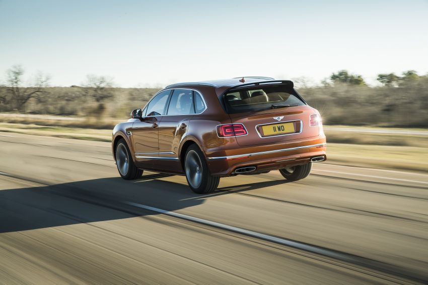 Bentley Bentayga Speed diperkenalkan sebagai SUV paling laju di dunia – mampu cecah hingga 306 km/j! Image #922279