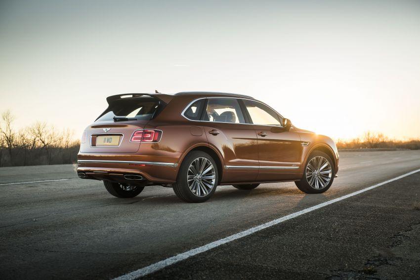 Bentley Bentayga Speed diperkenalkan sebagai SUV paling laju di dunia – mampu cecah hingga 306 km/j! Image #922280