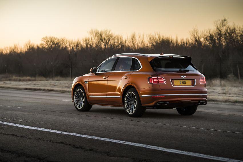 Bentley Bentayga Speed diperkenalkan sebagai SUV paling laju di dunia – mampu cecah hingga 306 km/j! Image #922282