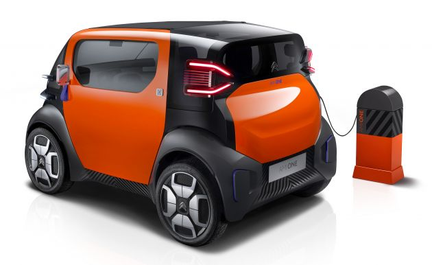 citroen ami one concept electric 2cv of tomorrow. Black Bedroom Furniture Sets. Home Design Ideas