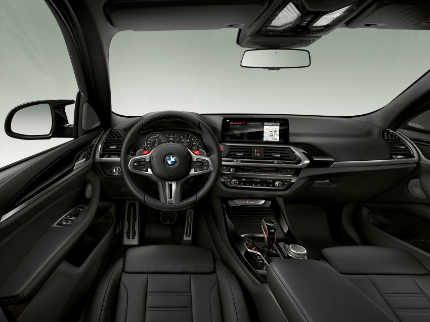 F97 BMW X3 M, F98 X4 M revealed with up to 510 hp Image #921342
