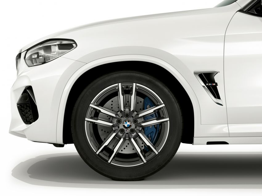 F97 BMW X3 M, F98 X4 M revealed with up to 510 hp Image #921347