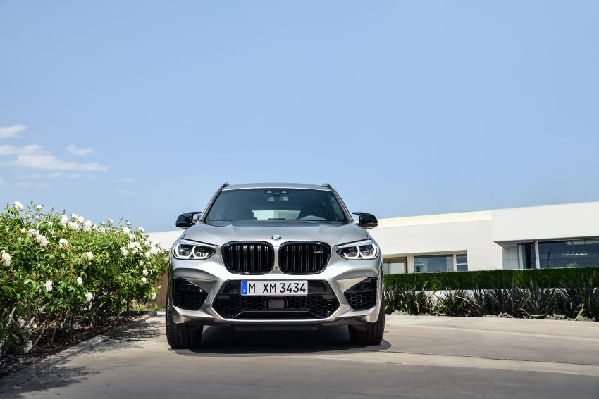 F97 BMW X3 M, F98 X4 M revealed with up to 510 hp Image #921348