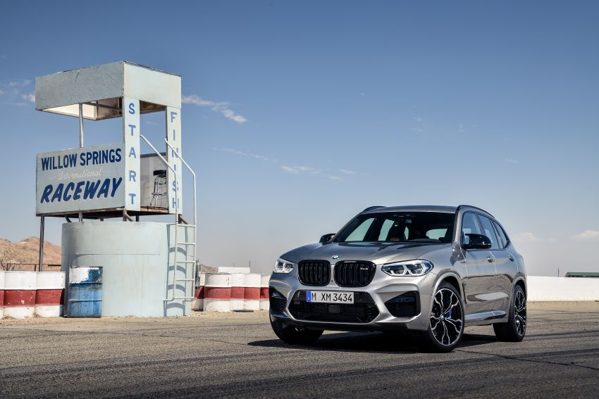 F97 BMW X3 M, F98 X4 M revealed with up to 510 hp Image #921406