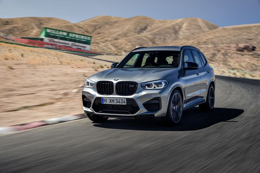 F97 BMW X3 M, F98 X4 M revealed with up to 510 hp Image #921419