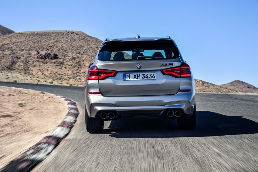 F97 BMW X3 M, F98 X4 M revealed with up to 510 hp Image #921446