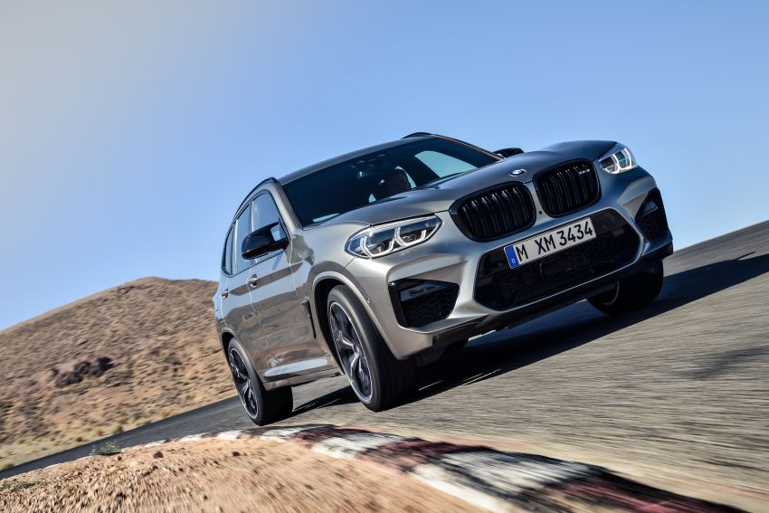 F97 BMW X3 M, F98 X4 M revealed with up to 510 hp Image #921449