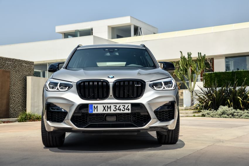 F97 BMW X3 M, F98 X4 M revealed with up to 510 hp Image #921349