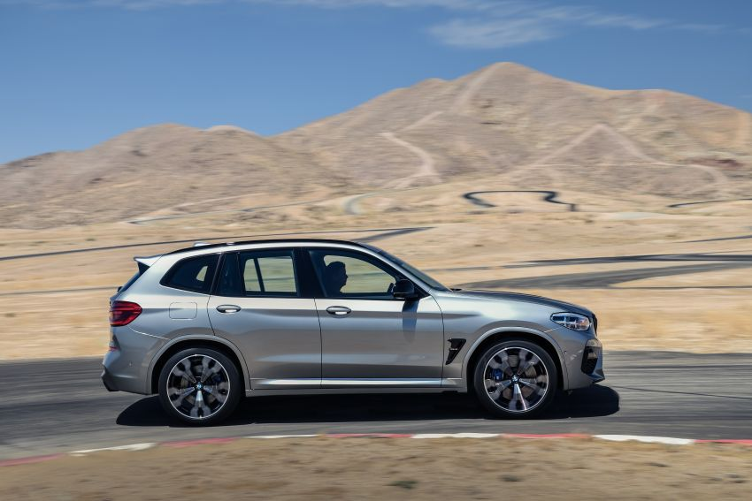 F97 BMW X3 M, F98 X4 M revealed with up to 510 hp Image #921455