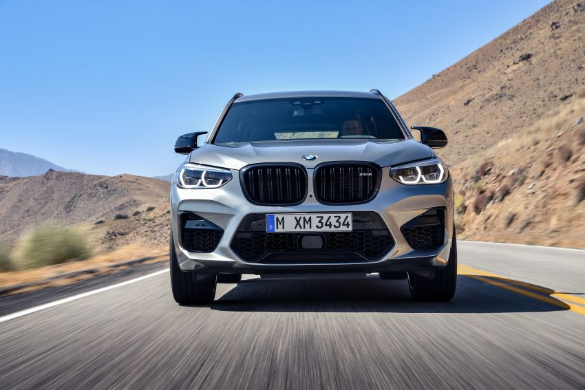 F97 BMW X3 M, F98 X4 M revealed with up to 510 hp Image #921465