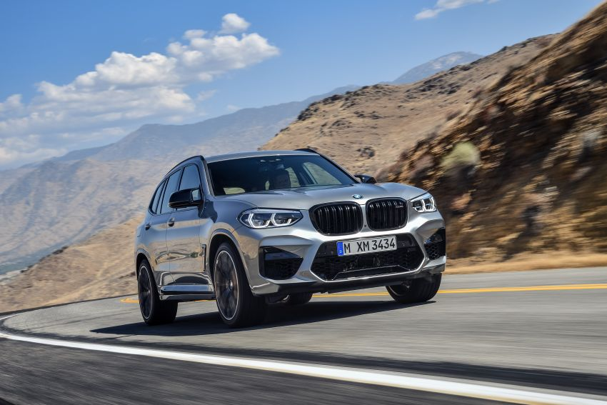 F97 BMW X3 M, F98 X4 M revealed with up to 510 hp Image #921467