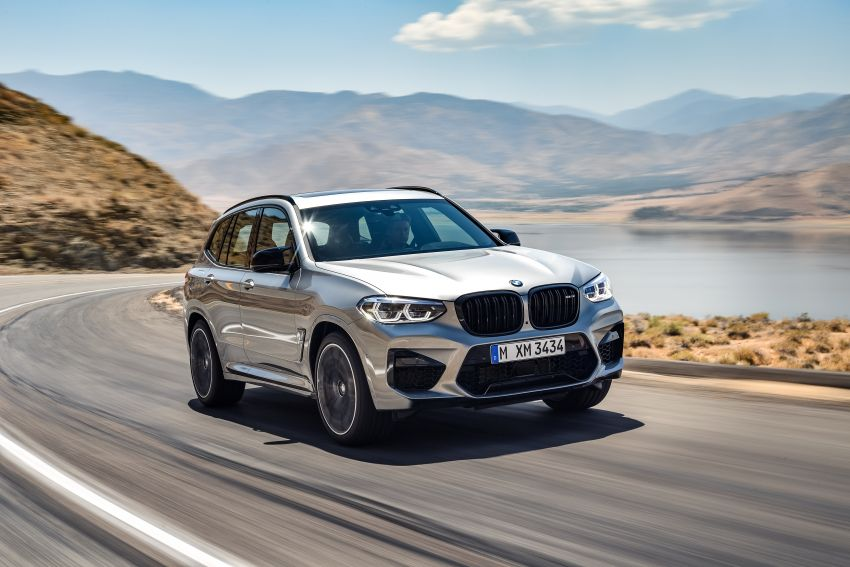 F97 BMW X3 M, F98 X4 M revealed with up to 510 hp Image #921469
