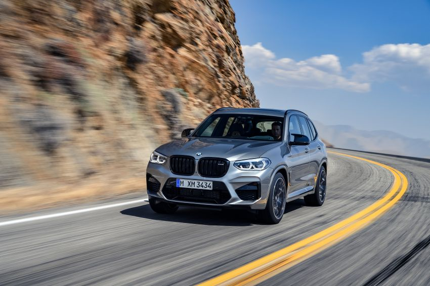 F97 BMW X3 M, F98 X4 M revealed with up to 510 hp Image #921646