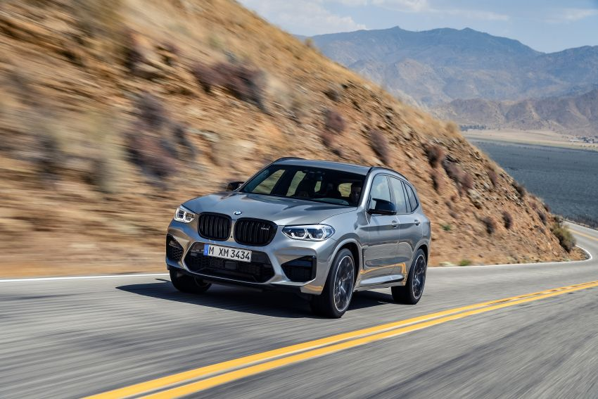 F97 BMW X3 M, F98 X4 M revealed with up to 510 hp Image #921470