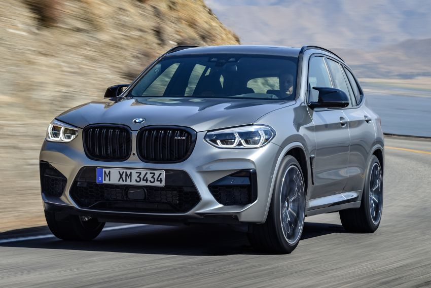 F97 BMW X3 M, F98 X4 M revealed with up to 510 hp Image #921471