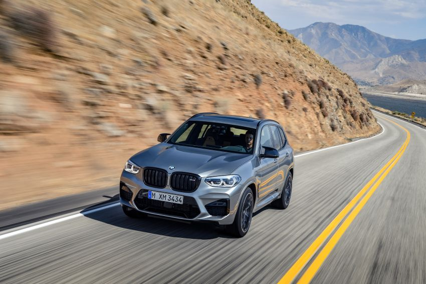 F97 BMW X3 M, F98 X4 M revealed with up to 510 hp Image #921473