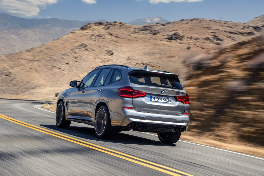 F97 BMW X3 M, F98 X4 M revealed with up to 510 hp Image #921474