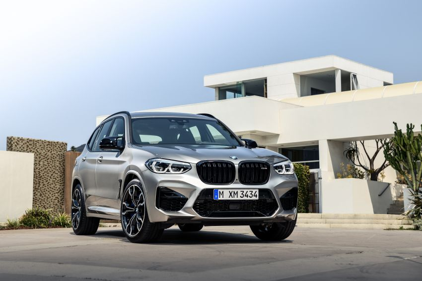 F97 BMW X3 M, F98 X4 M revealed with up to 510 hp Image #921350