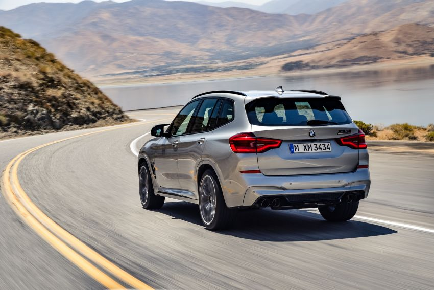 F97 BMW X3 M, F98 X4 M revealed with up to 510 hp Image #921475
