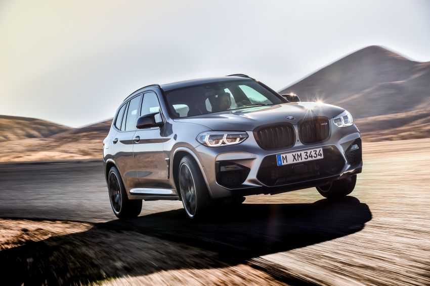 F97 BMW X3 M, F98 X4 M revealed with up to 510 hp Image #921476