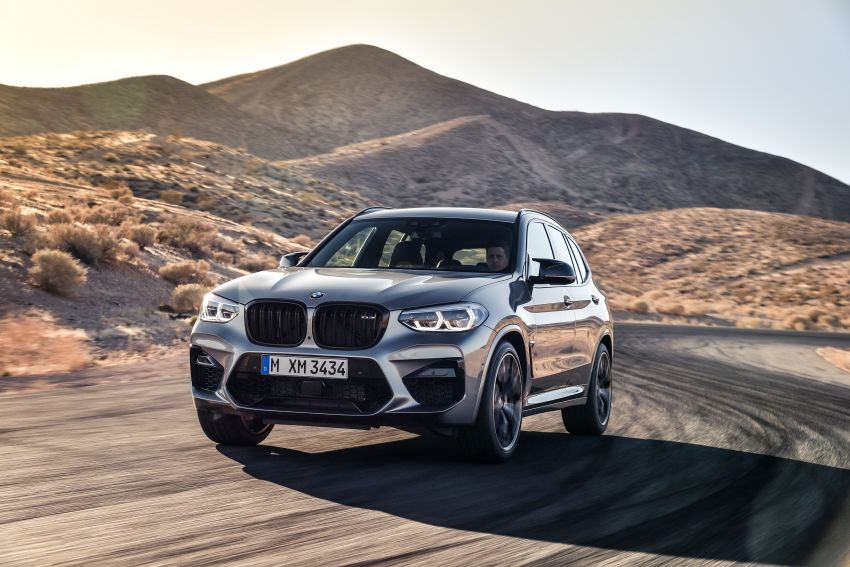 F97 BMW X3 M, F98 X4 M revealed with up to 510 hp Image #921477