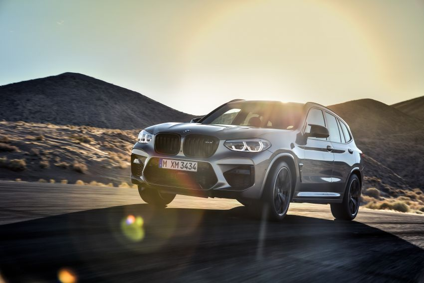 F97 BMW X3 M, F98 X4 M revealed with up to 510 hp Image #921478