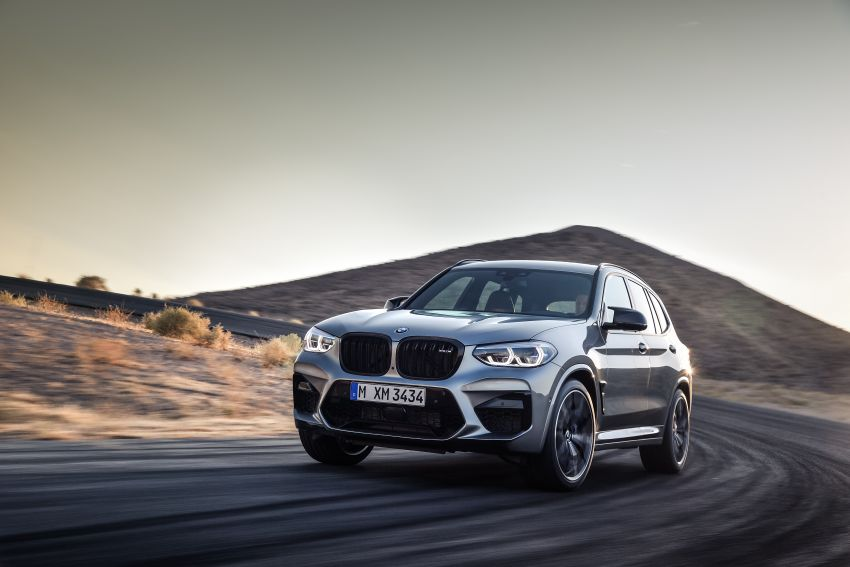 F97 BMW X3 M, F98 X4 M revealed with up to 510 hp Image #921479