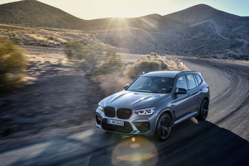 F97 BMW X3 M, F98 X4 M revealed with up to 510 hp Image #921480