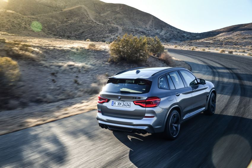 F97 BMW X3 M, F98 X4 M revealed with up to 510 hp Image #921482