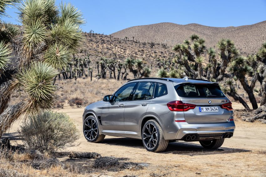 F97 BMW X3 M, F98 X4 M revealed with up to 510 hp Image #921484