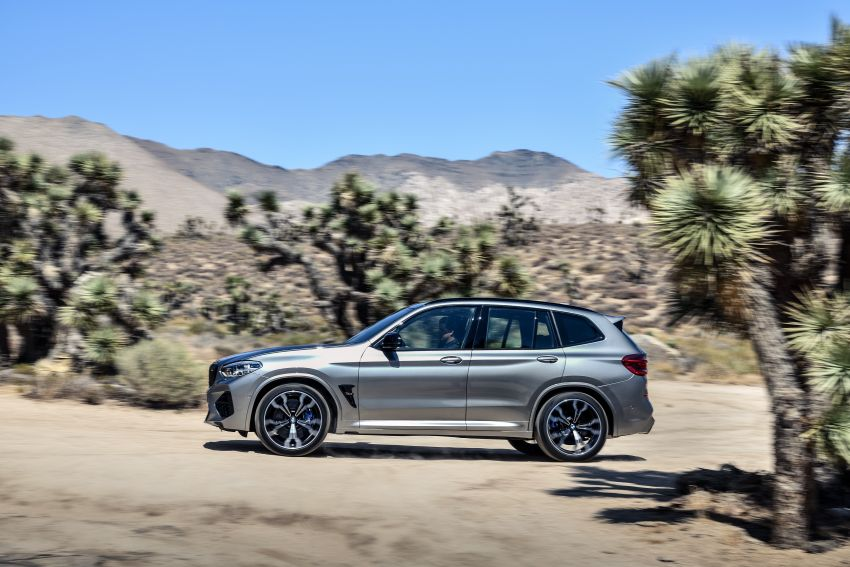 F97 BMW X3 M, F98 X4 M revealed with up to 510 hp Image #921485