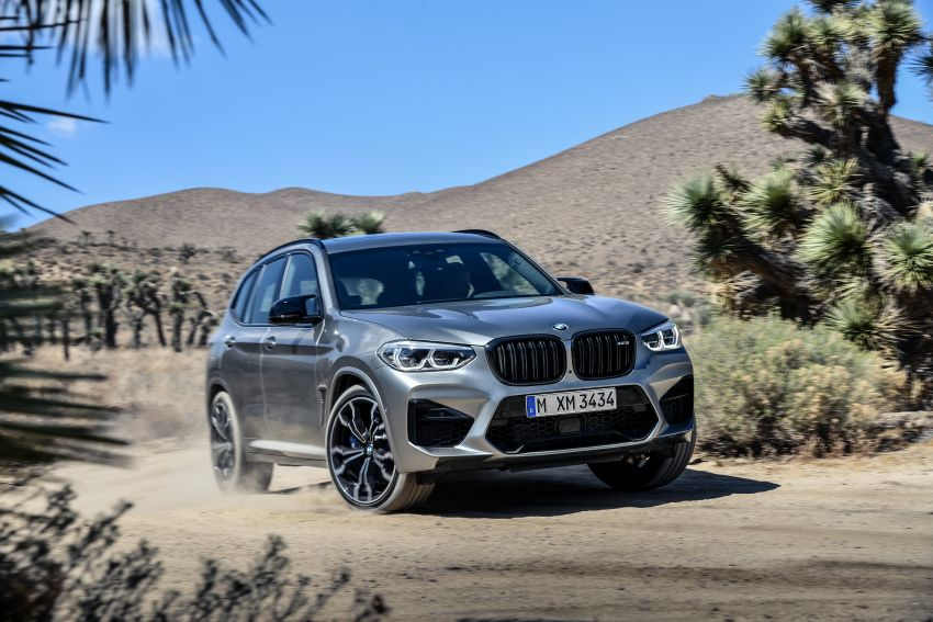 F97 BMW X3 M, F98 X4 M revealed with up to 510 hp Image #921486