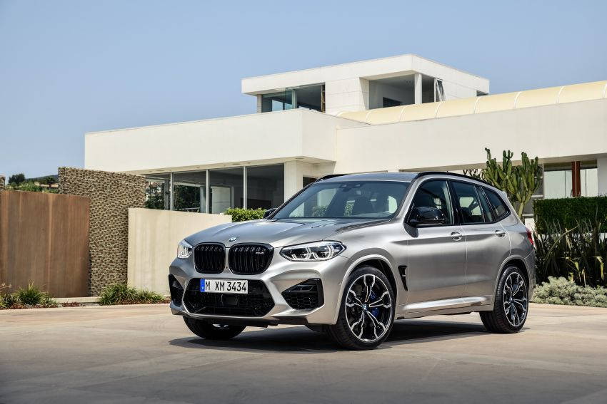 F97 BMW X3 M, F98 X4 M revealed with up to 510 hp Image #921351