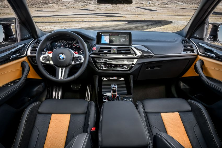 F97 BMW X3 M, F98 X4 M revealed with up to 510 hp Image #921487