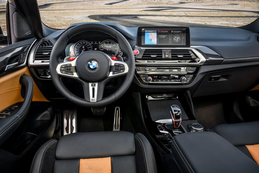 F97 BMW X3 M, F98 X4 M revealed with up to 510 hp Image #921488