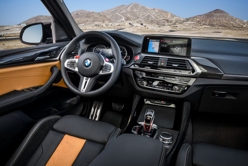 F97 BMW X3 M, F98 X4 M revealed with up to 510 hp Image #921489