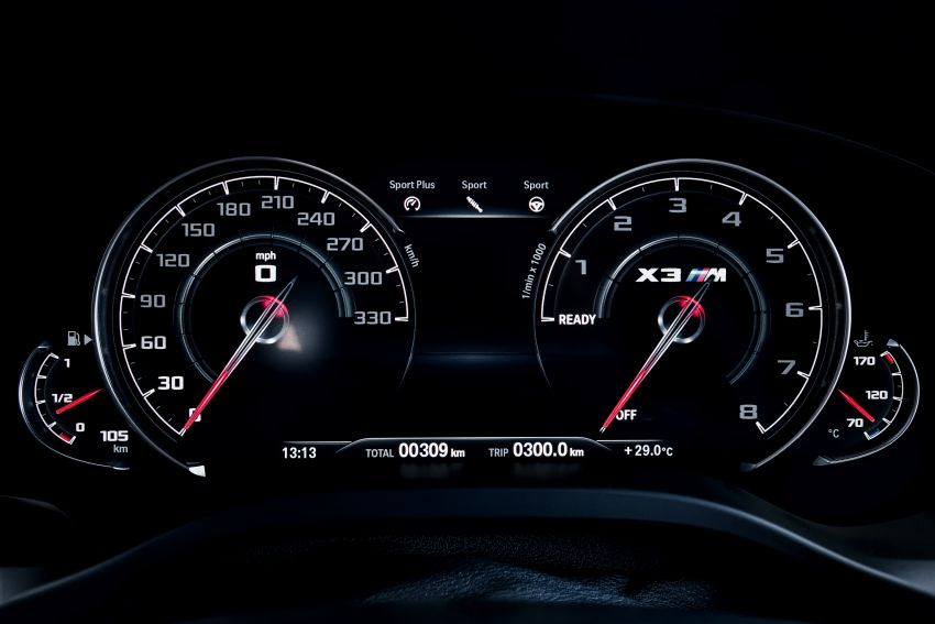 F97 BMW X3 M, F98 X4 M revealed with up to 510 hp Image #921497