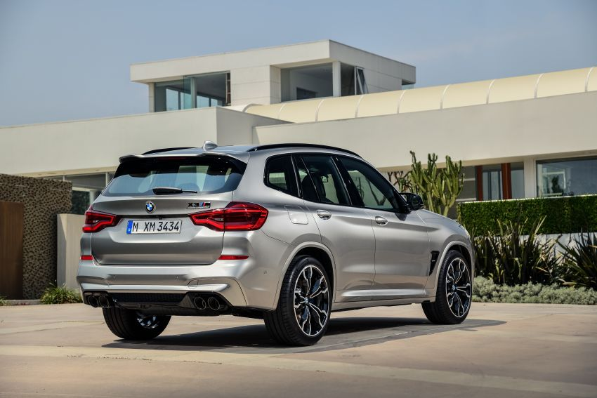 F97 BMW X3 M, F98 X4 M revealed with up to 510 hp Image #921352