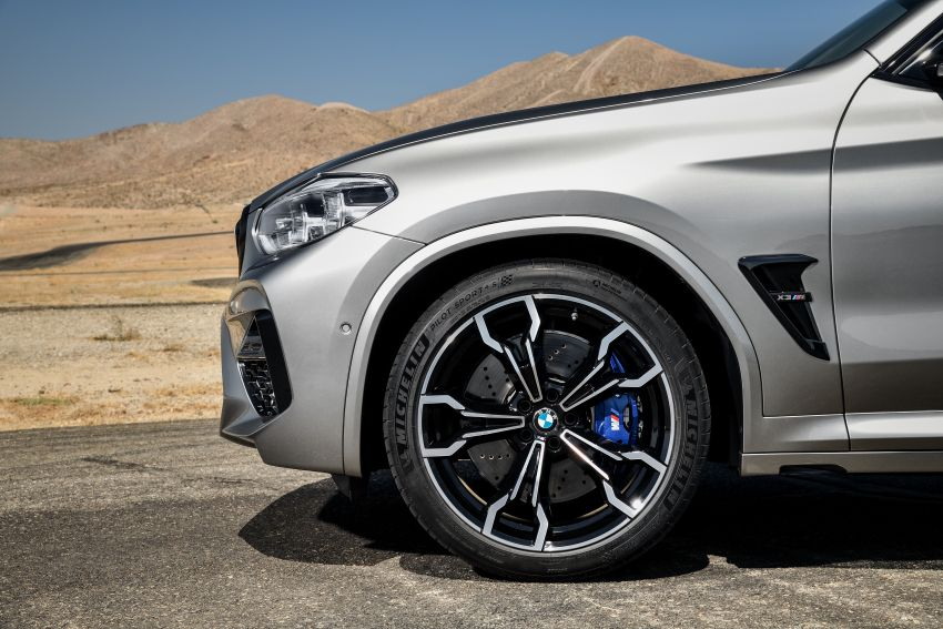F97 BMW X3 M, F98 X4 M revealed with up to 510 hp Image #921498