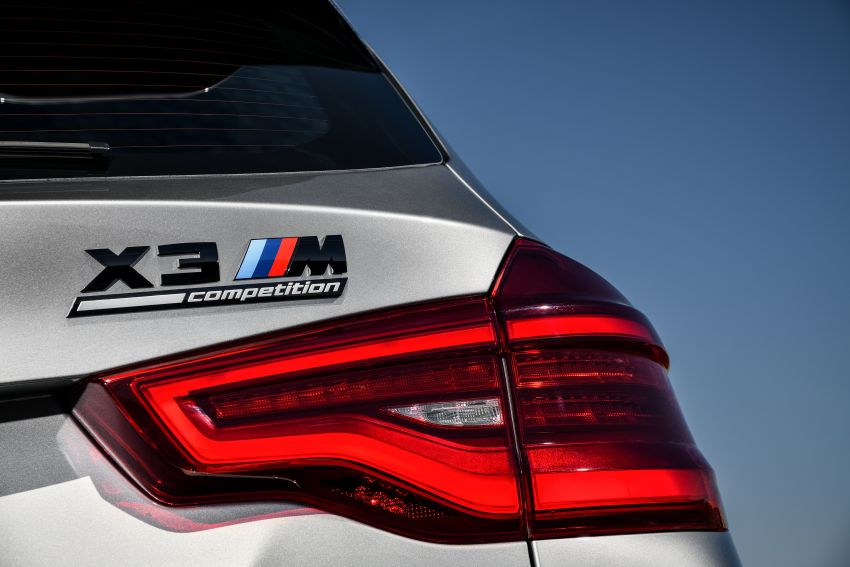 F97 BMW X3 M, F98 X4 M revealed with up to 510 hp Image #921499